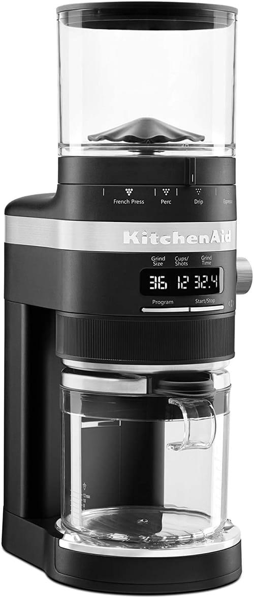 KitchenAid KCG8433BM Burr Coffee Grinder