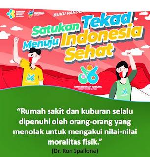 Quotes Selamat Hari Kesehatan Nasional