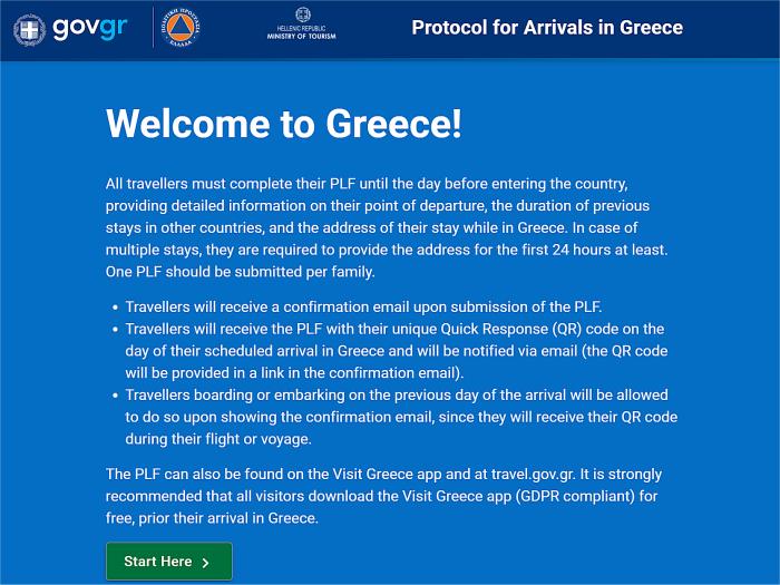 Home page PLF Grecia
