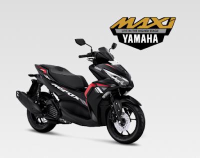 All New Yamaha Aerox 155 Terbaru 2021