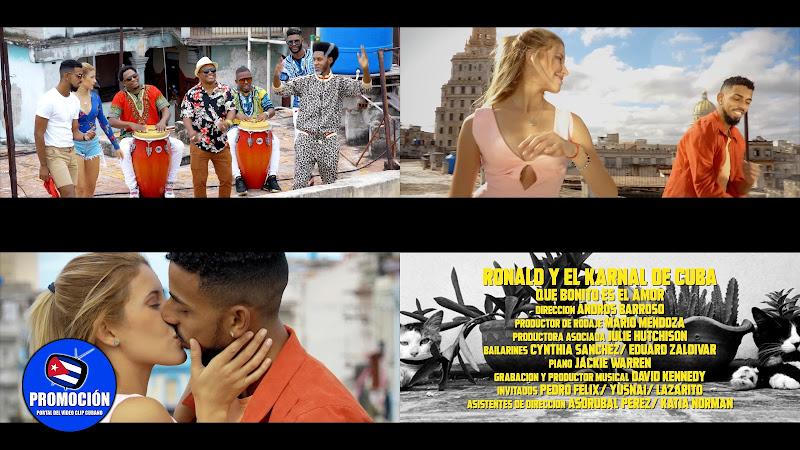 Ronald & El Karnal de Cuba - ¨Que bonito es el amor¨ - Videoclip - Director: Andros Barroso. Portal Del Vídeo Clip Cubano. Música Cubana. Rumba. Cuba.