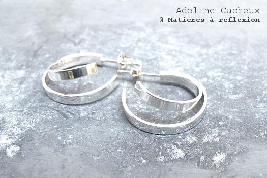 Adeline Cacheux boucles Pop Stripes