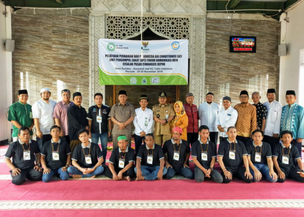 Jamaah 10 Masjid Dapat Pelatihan Perbaikan AC Dari Baznas