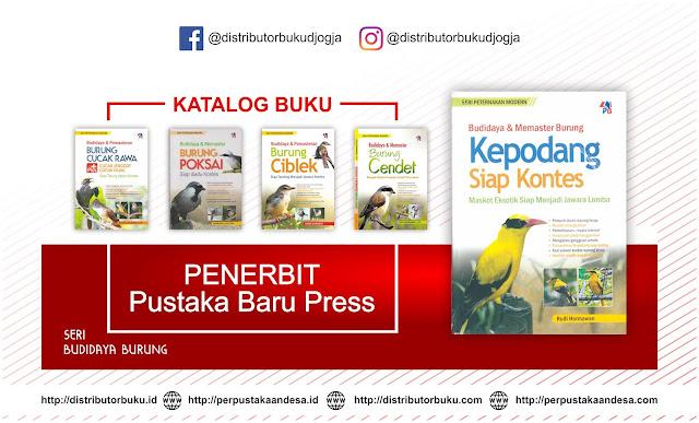 Buku Terbaru Terbitan Penerbit Pustaka Baru Seri Budidaya Burung