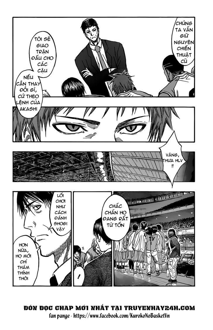 Kuroko No Basket chap 176 trang 10