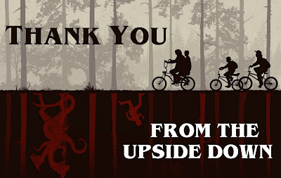 thank you from the upside down