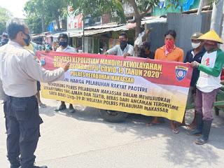 Satbinmas Polres Pelabuhan Makassar Lakukan Operasi Bina Waspada