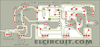 PCB Design Top Layer Tone Control Circuit