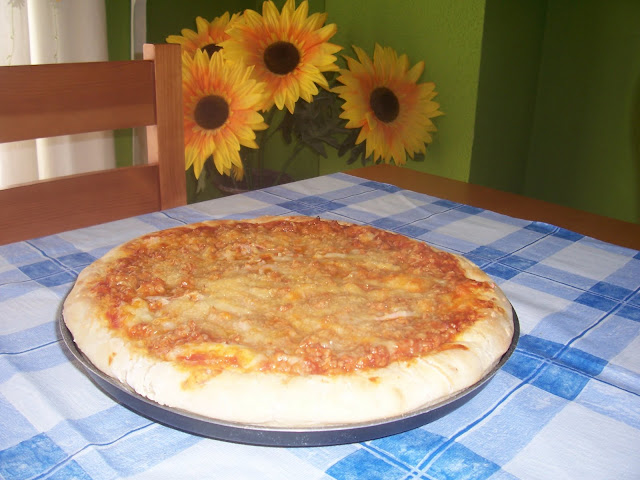 Pizza a la Barbacoa. Receta