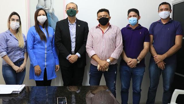 Comissão de Saúde: vereadores de Patos-PB visitam Hospital Infantil Noaldo Leite