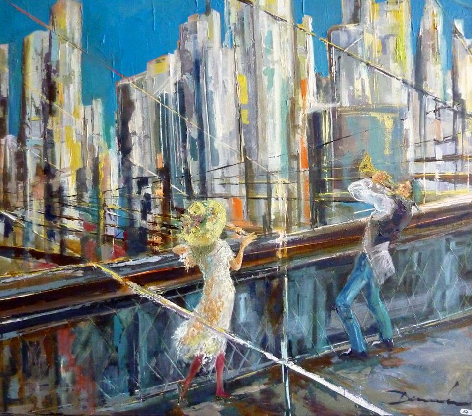 Damian  Tirado  Jazz  sur  le  pont