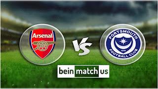 مشاهدة مباراة بورتسموث وآرسنال بث مباشر اليوم