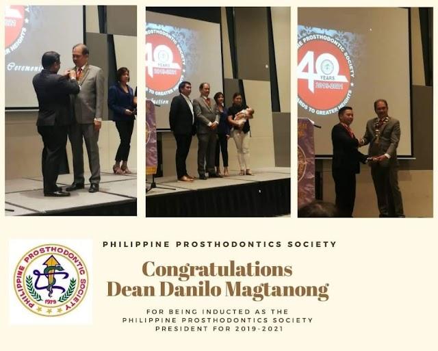 Congratulations PPS President Dean Danny Magtanong