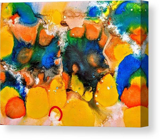 Chaos and Confusion  Abstract to View and Shop by Miabo Enyadike