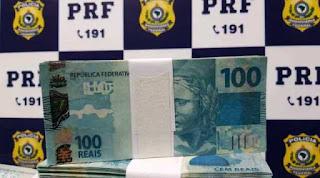 230.000 reais em notas falsas