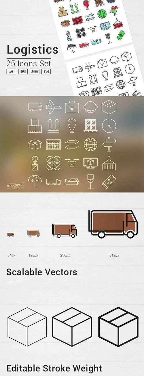 Download Icon Logistik PNG, SVG, EPS, Ai Gratis