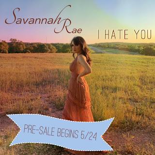 New Music Pre Order: Savannah Rae - I Hate You