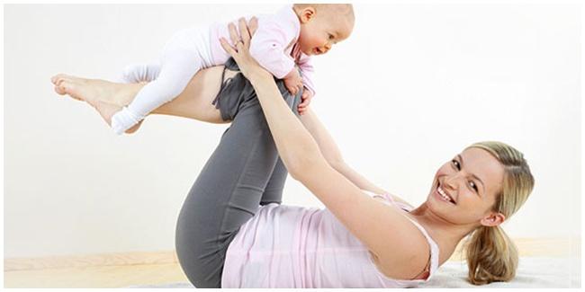 Bagaimana cara melangsingkan badan setelah melahirkan?