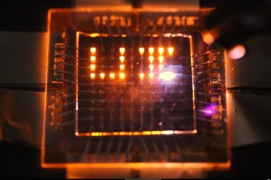 New Nanorod LEDs in Displays enable cell phones to charge in ambient light and can be controlled by touchless gestures