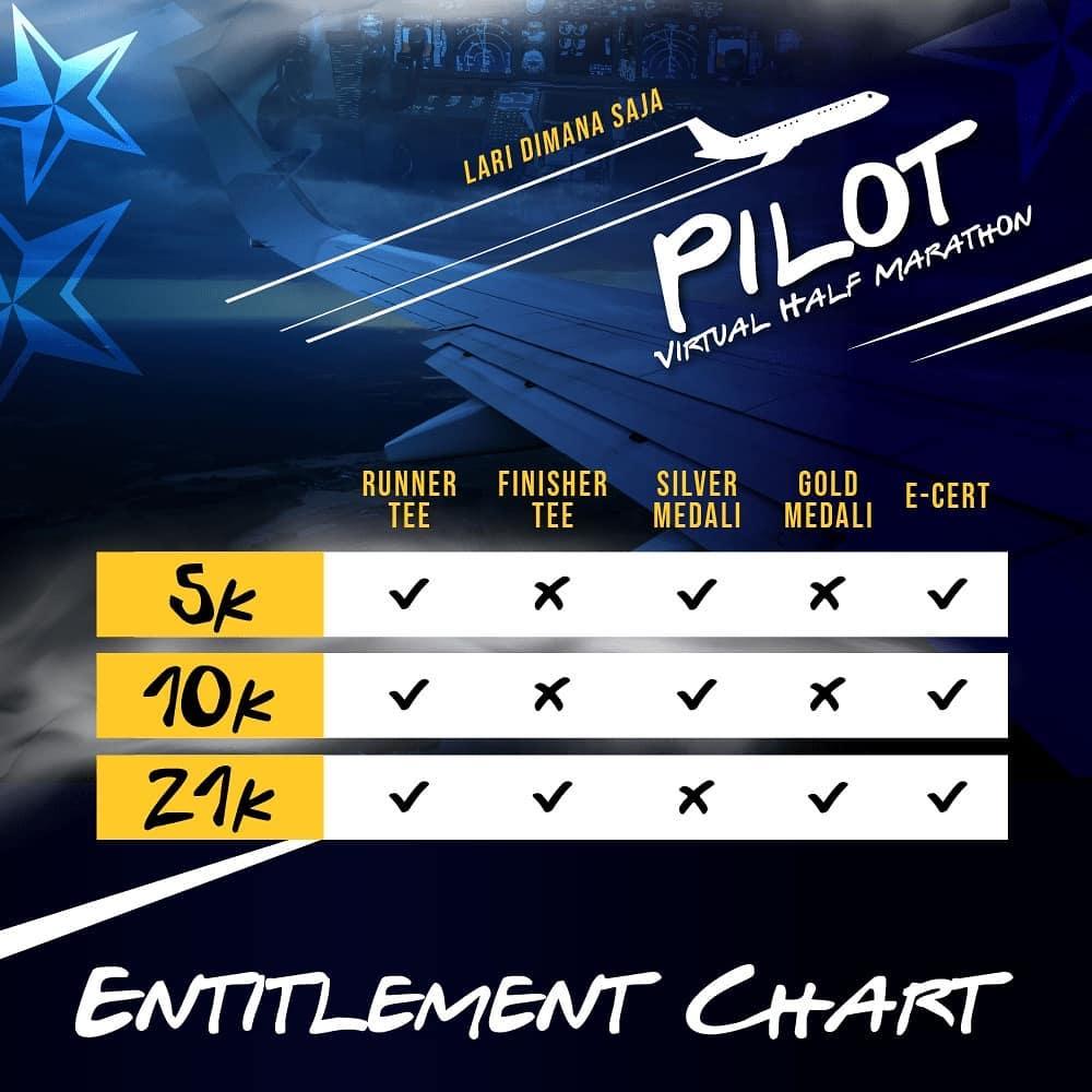 Pilot Virtual Half Marathon • 2021