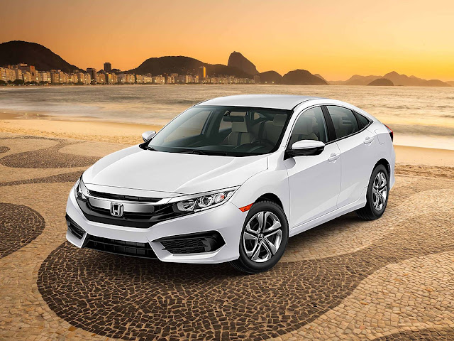 Novo Honda Civic 2017 - Brasil