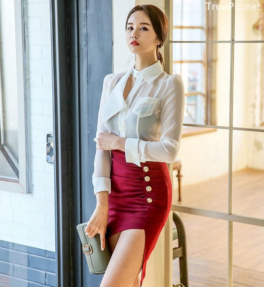 Korean Fashion Model - Chloe Kim - Indoor Photoshoot Collection - TruePic.net - Picture 7
