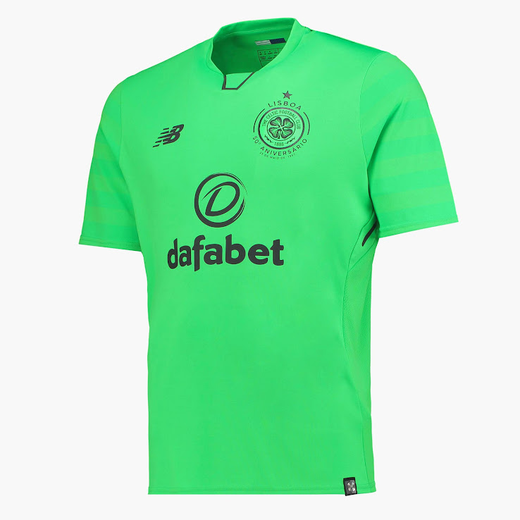 Celtic Released Three Greenish Kits For the 2017-2018 Season. Celic s 17-18  home 9ffcde4c6