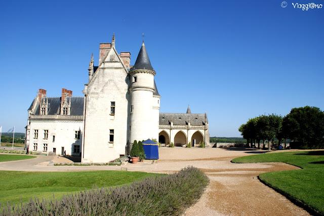 Vista panoramica del Castello Reale di Amboise