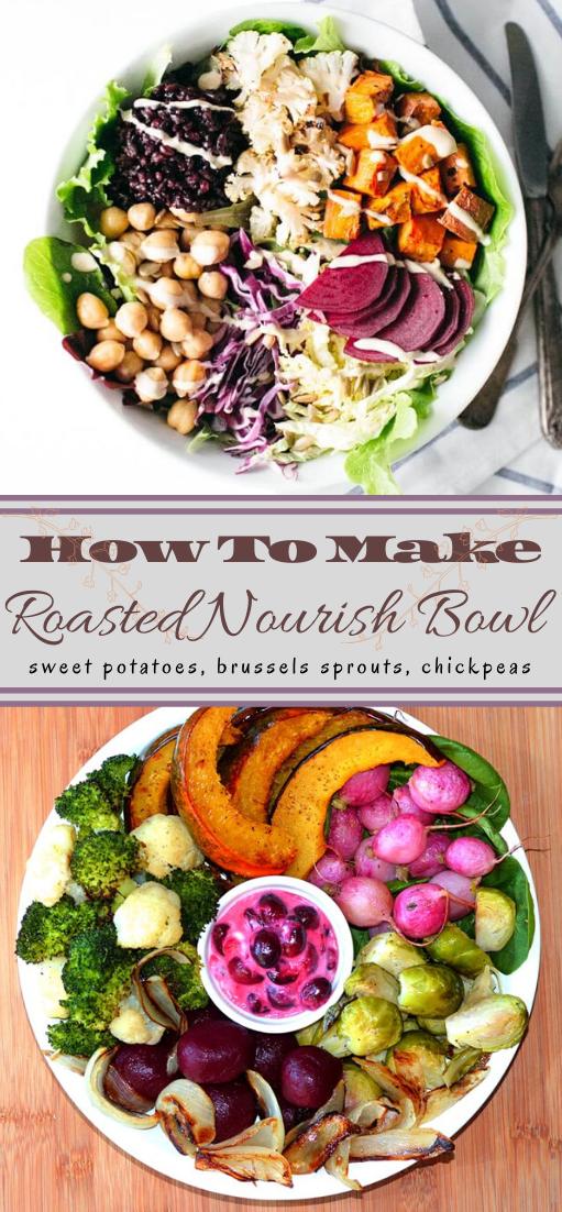 Roasted Nourish Bowl #vegan #vegetarian #soup #breakfast #lunch