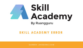 Skill Academy Error