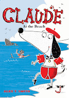 Claude at the Beach by Alex Smith