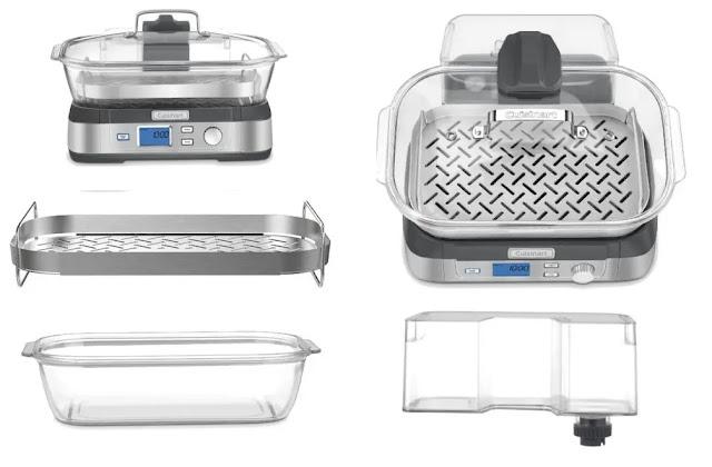 Cuisinart STM-1000 Digital Glass Steamer Review