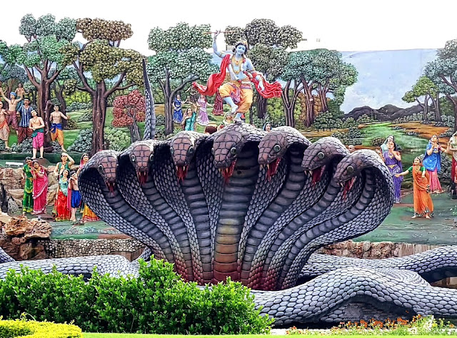 Lord Krishna on Kaliya Naag image download