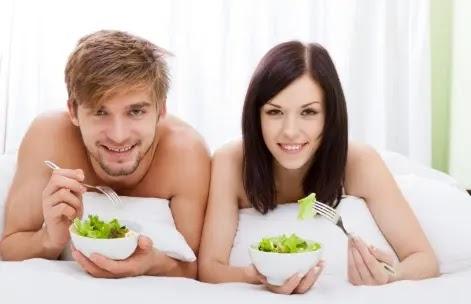 النظام الغذائي لممارسة الجنس