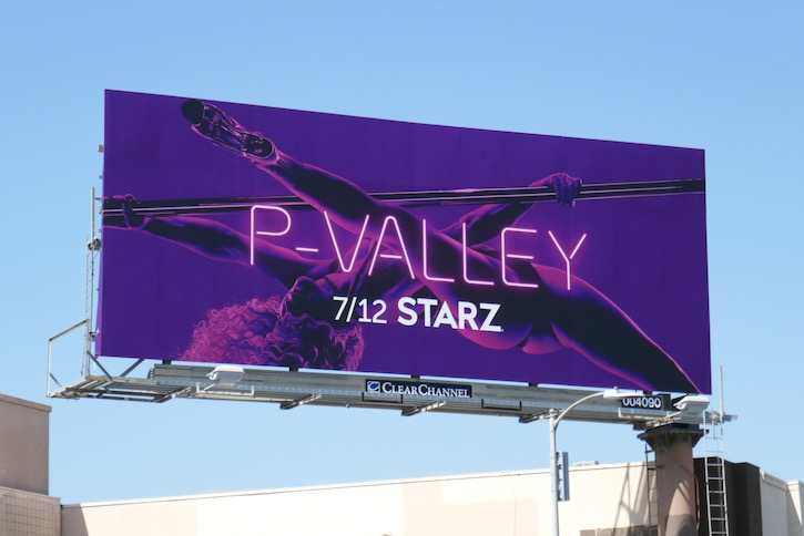 P-Valley series premiere billboard