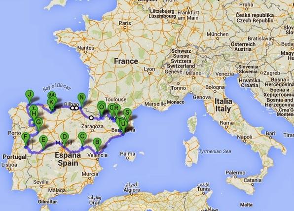pirineus espanha mapa Turismo sem Clichê: O lado B da Espanha pirineus espanha mapa