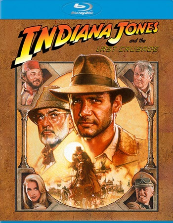 Indiana Jones And The Last Crusade 1989 300MB BRRip Dual Audio