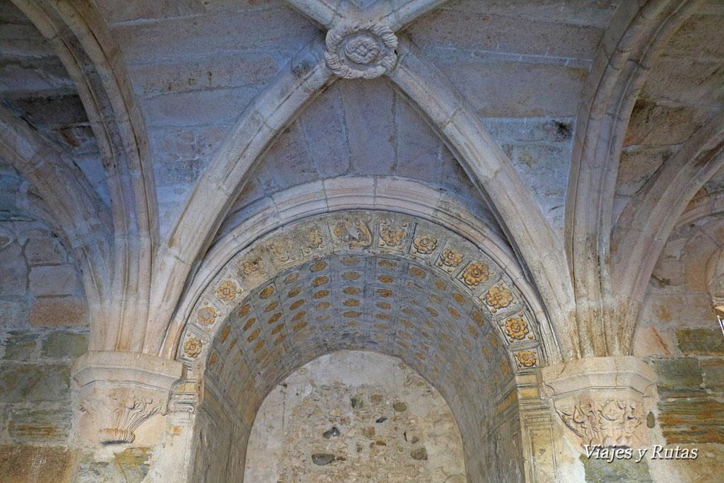 Sala capitular del Monasterio de Santa María de Carracedo