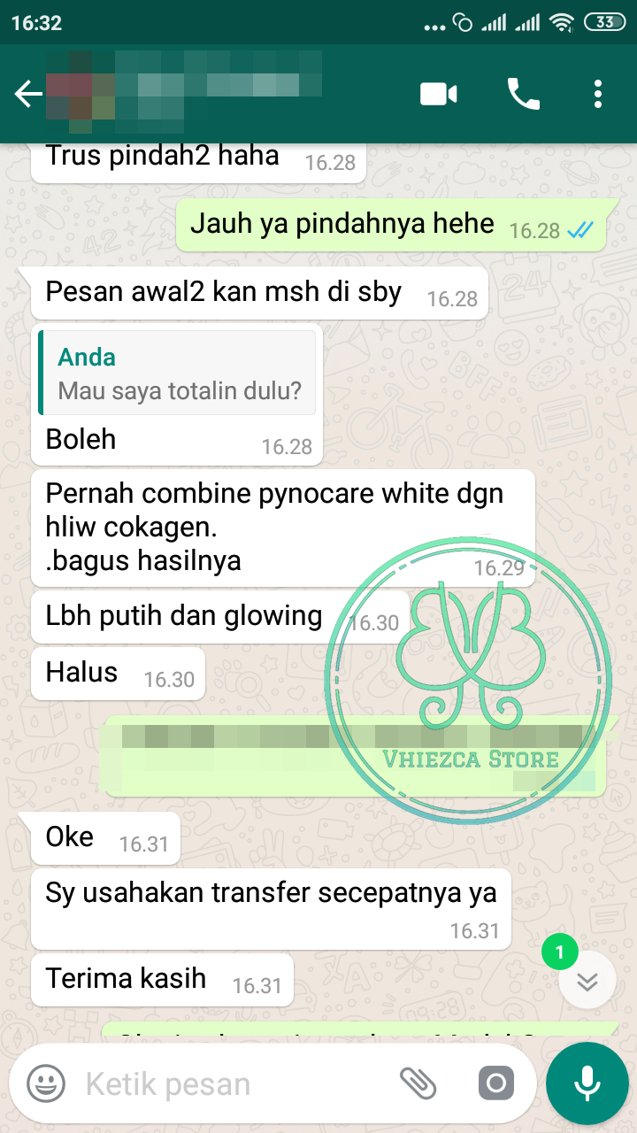 Harga Pynocare White