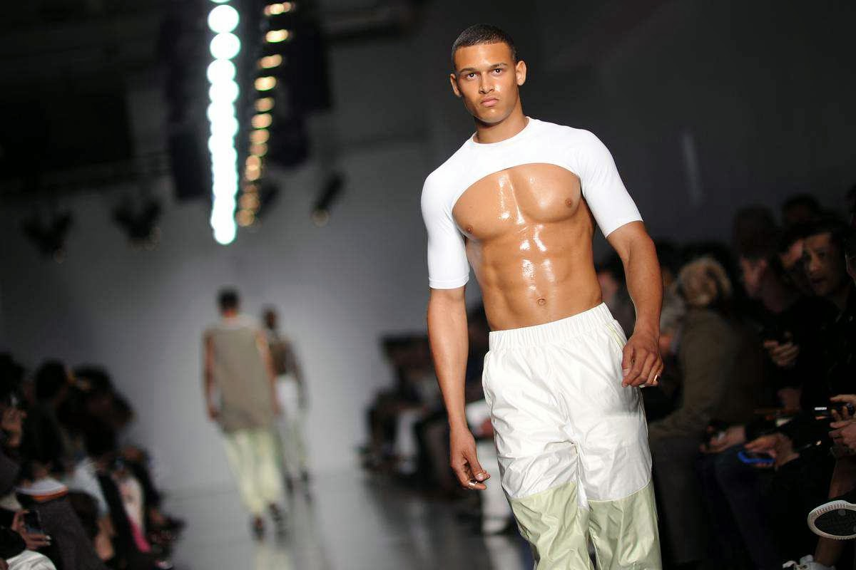 geeks fashion male models rule the runway