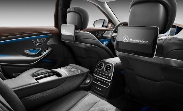 2018 Mercedes-Benz Reveals S-Class Upgrades Unveiled Interior