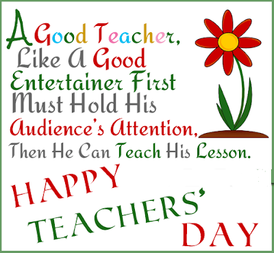 short slogans on teachers day in english