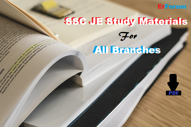 ssc-je-free-study-materials