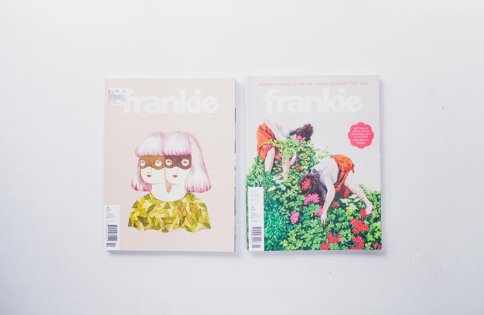 thrift store frankie magazines