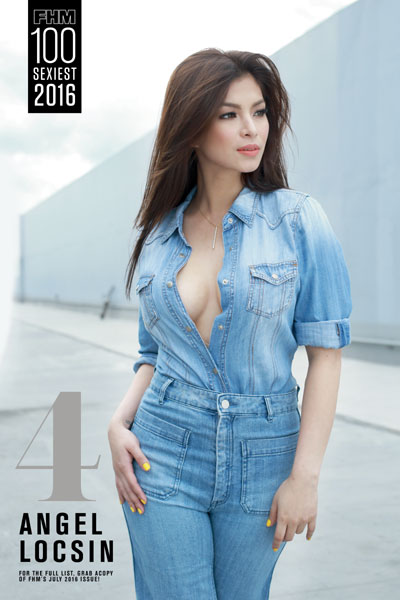 Top 10 Fhm Philippines 100 Sexiest Women Year 2016 -6283