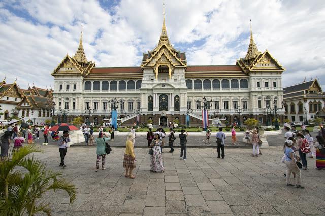Tempio Wat Phra Kaew e Grand Royal Palace-Bangkok
