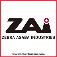 Lowongan Kerja PT Zebra Asaba Industries Kuningan Terbaru Mei 2020