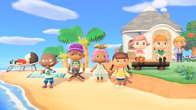 Animal Crossing New Horizons skin colours tones black people