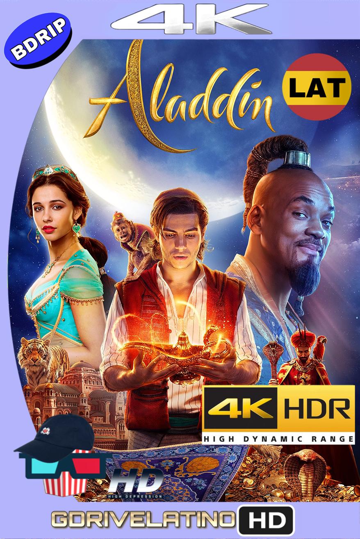 Aladdin (2019) BDRip 4K HDR (Latino-Inglés) MKV