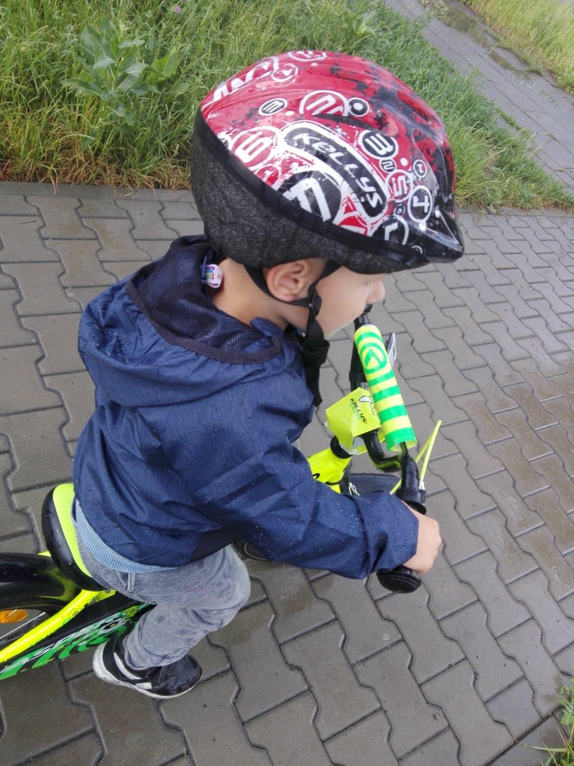 nauka jazdy na rowerze